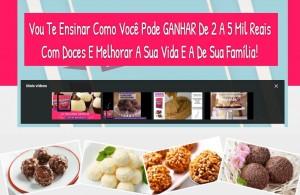 100 Receitas de Brigadeiros Gourmet - Ganhos De 2 A 5 Mil Reais